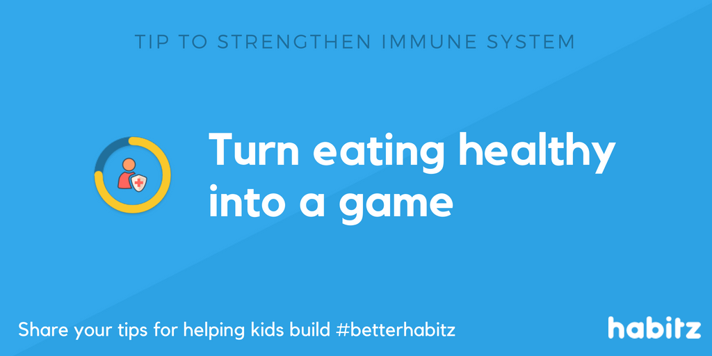 Turn eating healthy into a game