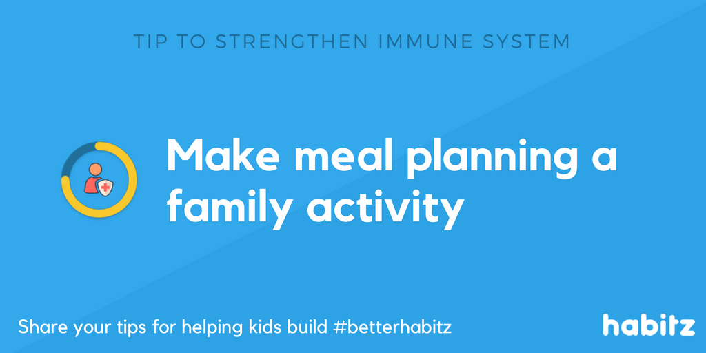 Habitz Make meal planning a family activity